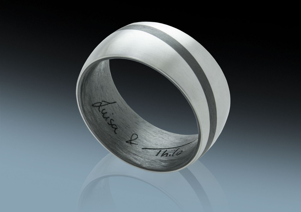 Thilos Ring - Titan und Carbon