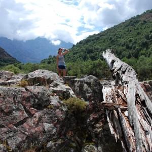 Luisa auf der Suche nach dem Weg...