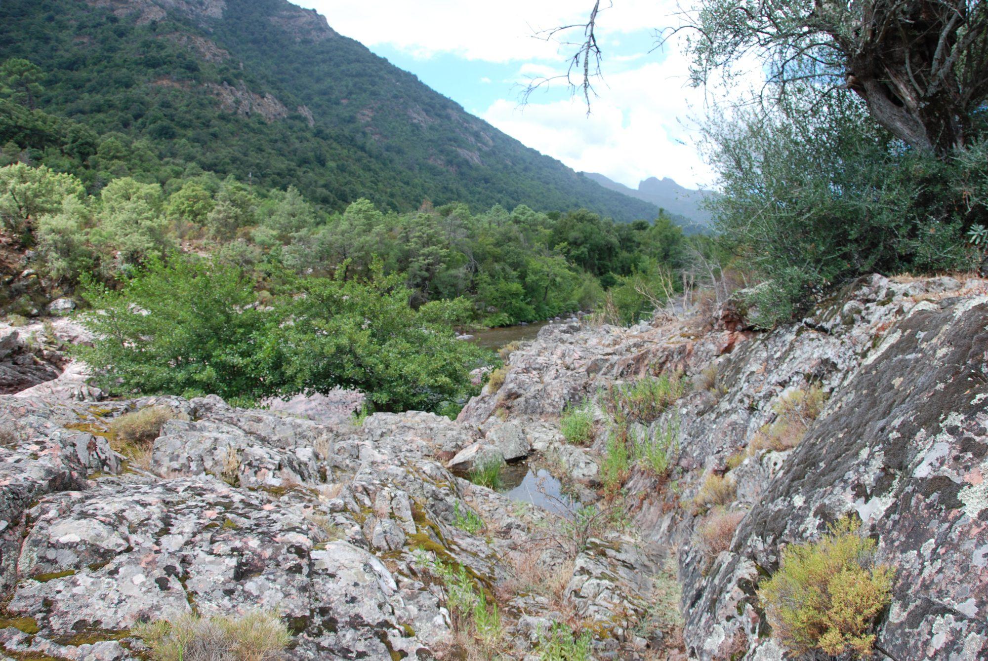Wanderung im Fangotal auf Korsika