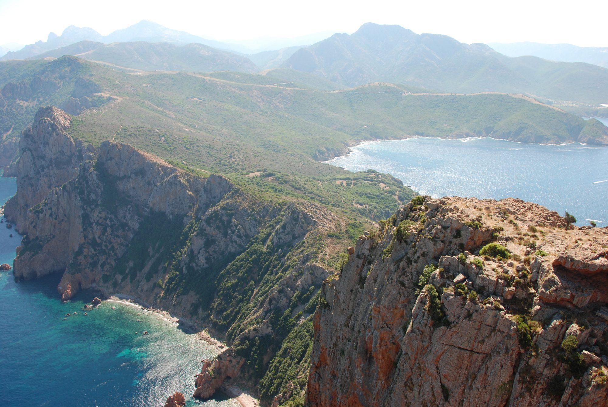 Blick vom Capo Rosso