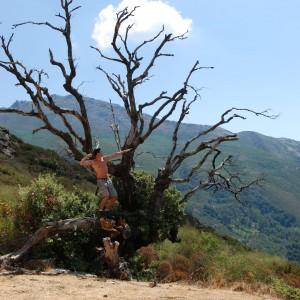 Wanderung am Monte Stello