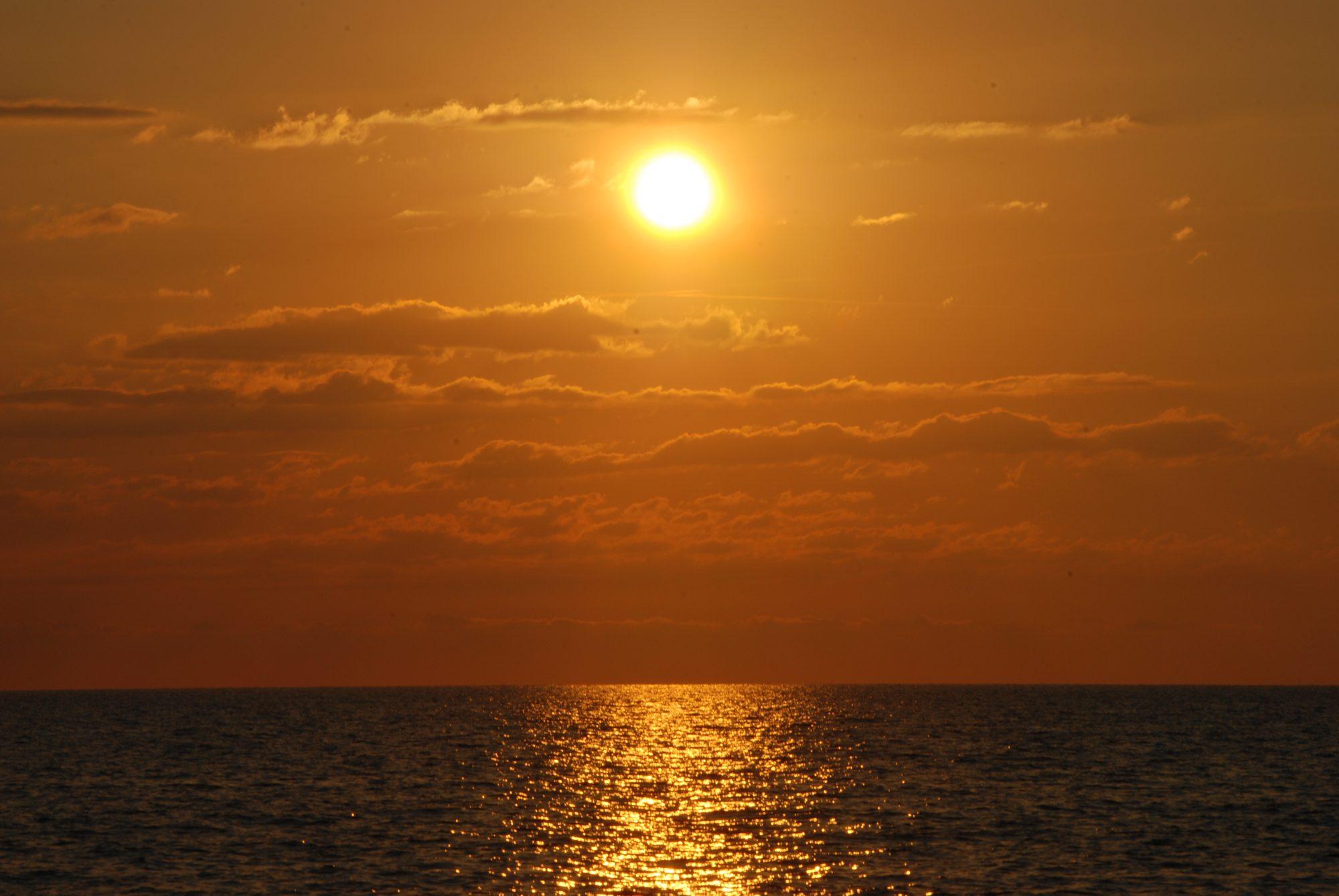 Traumhafter Sunset bei St. Florent