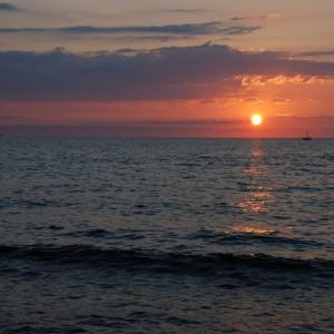 Sunset bei St. Florent