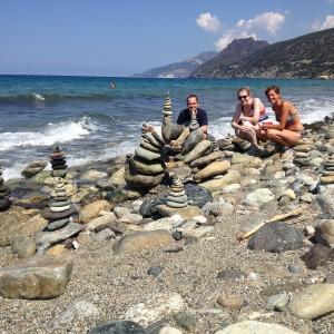 Steinskulpturen am Cap Corse - Mit Resi und Marco