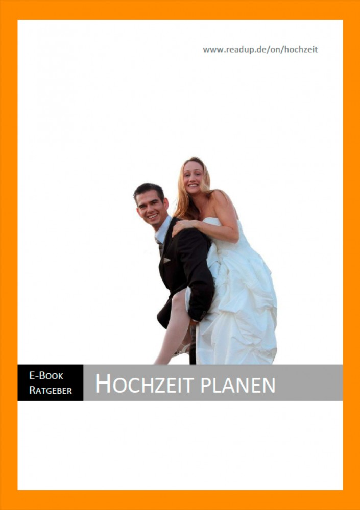 "Der E-Book Ratgeber ""Hochzeit planen"""